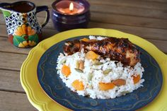 Chicken Mole with Fall Harvest Rice Recipe