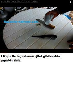 Bıçak bileme nasıl yapılır
