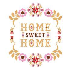One Little Bird Studio's Home sweet Home