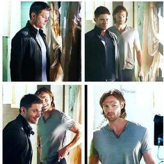Supernatural #Season9BTSPhotoshootsJensenAndJared Edit +Deborah+
