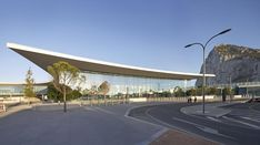 The new terminal at Gibraltar's airport was designed by Fentress Architects