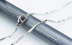 20pcs 30inch 1.2mm 316L stainless steel necklace by aliyafang, $59.00