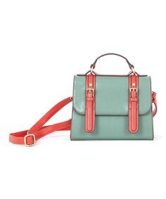 Love this Green Messenger Bag by Lavand on #zulily! #zulilyfinds