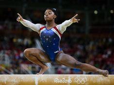 Simone Biles: Team USA, Gymnastics --> These Black Athletes Powerfully Dominated The 2016 Olympics