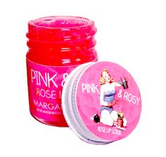 Pink and Rosy Rose Lip Scrub by Margarita Bloom  http://margaritabloom.storenvy.com/collections/252886-lips/products/2664948-pink-rosy-rose-lip-scrub