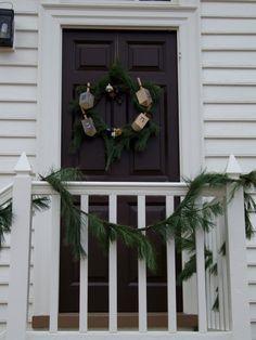 Hanukkah Wreath | #hanukkah #chanukkah #decor #holiday