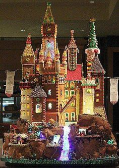 Gingerbread fairy castle!
