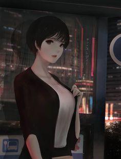 ArtStation - Office Lady, Aoi Ogata