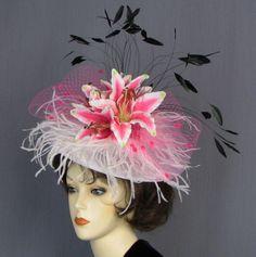 #Kentucky Derby # Hats #Lady Diane Hats