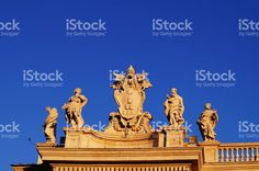 Detail of Saint Peter square, Vatican City, Rome foto stock royalty-free