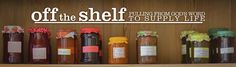 off the shelf | pulling from God's word to supply life