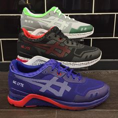 """""""This weeks #aphroditesneakerpicks was chosen by Joe from our store team and features the just released Gel Lyte Evo Pack from @asicseurope what do you…"""""""