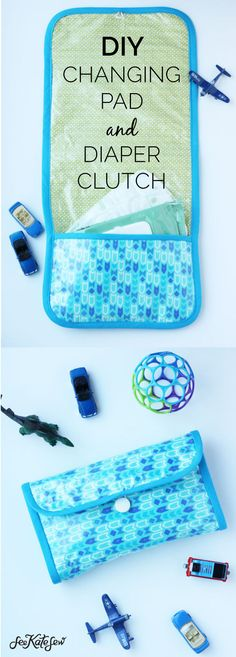 Diy Changing Pad And Diaper Clutch For Boys Sewing Tutorials Diy Baby Diy Baby Items See Kate Sew Sewing Projects For Beginners, Sewing Tutorials, Sewing Diy, Sewing Ideas, Sewing Patterns, Diy Projects, Sewing Hacks, Embroidery Patterns, Sewing Dolls
