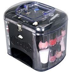 The Color Work Incredible Nails Care Set Black 20 Pc