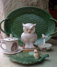 owls are everywhere, and I love them!