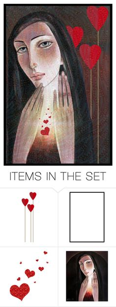"""""""The Power Of Love"""" by ritadolce ❤ liked on Polyvore featuring art"""