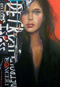 Pascale Taurua, 1960   Mixed media/Fashion painter   Tutt'Art@   Pittura * Scultura * Poesia * Musica  