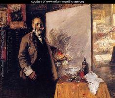 Self Portrait - William Merritt Chase - www.william-merritt-chase.org