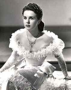 Deanna Durbin - loved her movies - what a voice!