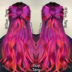 Kenra Color Creative Violet, Magenta, and Pink by #guytang
