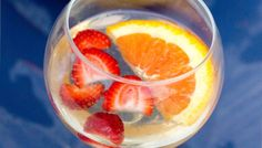 The Best White Sangria and Virgin Sangria Ever!