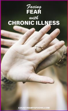 Facing the fear of chronic illness: You can choose whether you'll allow the fear of chronic illness stop you from living a life you love. Or, you can live despite the fear. Chronic Fatigue, Chronic Illness, Chronic Pain, Fibromyalgia, Tarsal Tunnel Syndrome, Facing Fear, Fighting Depression, Stress, Ulcerative Colitis
