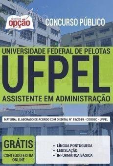 Apostila Ufpel 2019 Pdf Assistente Em Administracao Download