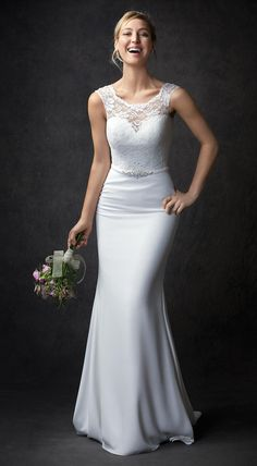 d13293152bf5 This is Style GA2305 from the Kenneth Winston line of wedding dresses. Very  beautiful.  wedding  dresses  bride  beach