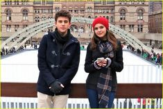 Bailee Madison & Rhys Matthew Bond Go Ice Skating in Toronto - See The Cute Pics! | bailee madison rhys matthew bond skating toronto 07 - Photo