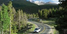 Scenic Drives in Estes Park, CO. Including Trail Ridge Road, the highest continuous paved road in the U.S., travels through the heart of Rocky Mountain National Park from Estes Park to Grand Lake.