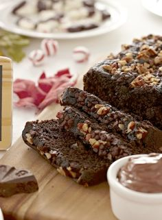 DAY 11, DECEMBER 13, 2012 Here's an easy #holiday #recipe to try and also a #Nestle favorite!  #Delicious #Chocolate Quick #Bread...served best with a tall glass of cold milk! #Repin to #WIN a #Walmart #GiftCard