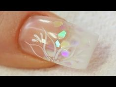 Beginners UV Gel Nail with a Tip and Overlay Tutorial Video by Naio Nails