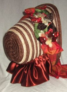 1860 bonnet- In the new system I am going to start a bonnet wearing fad! Would love wearing one :)
