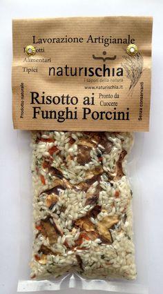 Risotto ai Funghi Porcini gr. 200 title= Risotto al nero di seppia is the one I've tried and love