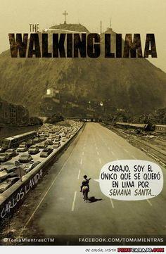 the walking lima