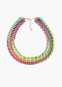 Taste The Rainbow Necklace in Multi | Necessary Clothing