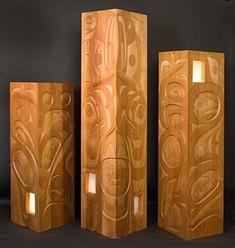 Rande Cook light pillars