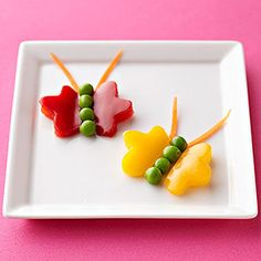 Veggie's they can't resist: Green Pea Critters