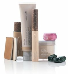 aveda makeup | from plants and non petroleum minerals