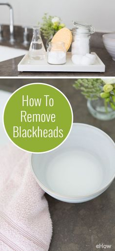f you're faced with blackheads, have no fear – a DIY remedy is here. All you need are some simple ingredients: rubbing alcohol to disinfect and dry out excess oil, and baking soda to clean and exfoliate build up of dead skin. Try it out tonight to remove those blackheads and ultimately keep pesky pimples at bay. http://www.ehow.com/how_8144981_remove-rubbing-alcohol-baking-soda.html?utm_source=pinterest.com&utm_medium=referral&utm_content=freestyle&utm_campaign=fanpage