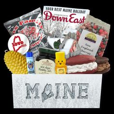 We send the best Maine items each season for under $40/box.