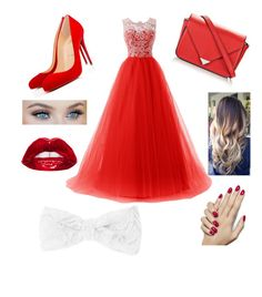 """""""In your wildest dreams... ❤️"""" by bmquiram on Polyvore featuring Christian Louboutin, Alexander Wang and claire's"""