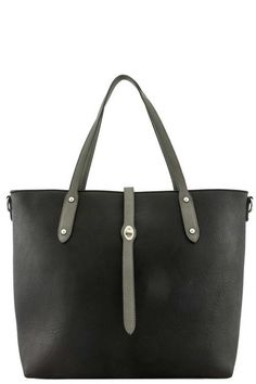 DESIGNER REAL LEATHER HANDLE TOTE BAG