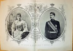 gr-Princess Marie of Saxe-Coburg-Gotha and Prince Ferdinand of Romania in Sigmaringen, Germany, on 10 January Six children. Romanian Royal Family, German Royal Family, Regina Victoria, Queen Victoria, Victoria Masterpiece, Rupert Friend, Masterpiece Theater, Ferdinand, King Queen