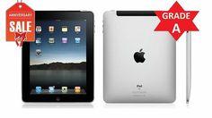 Apple iPad 2 16GB, Wi-Fi, 9.7in - Black - GRADE A CONDITION (R)            $124.85 http://us.mediatorprice.com/product/ZWJfMTcxNjI5OTQxMTc5/catalog/apple-ipad-2-16gb-wi-fi-97in-black-grade-a-condition-r