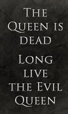 The Queen is dead. Long live the Evil Queen 2