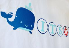 Ahoy It's a Boy Baby Shower Banner by PinwheelLane on Etsy, $25.00