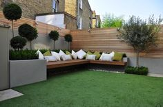 Backyard Seating Ideas. This is so what I want 7n our garden