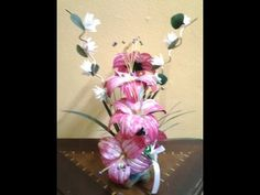 Best Out Of Waste Plastic transformed to fabulous orange flowers Showpiece - YouTube