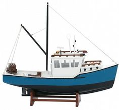 Lobster Boat Model- Lobster Boat Model Nicely made models,will compliment any nautical decor. A must for any nautical enthusiast. Size is 15 inches H x 17 inches L x 5 inches W SHIPPING: of our orders ship within 10 Wooden Boat Plans, Wooden Boats, Duck Boat Blind, Lobster Boat, Boat Insurance, House By The Sea, Nautical Home, Tall Ships, Paper Models